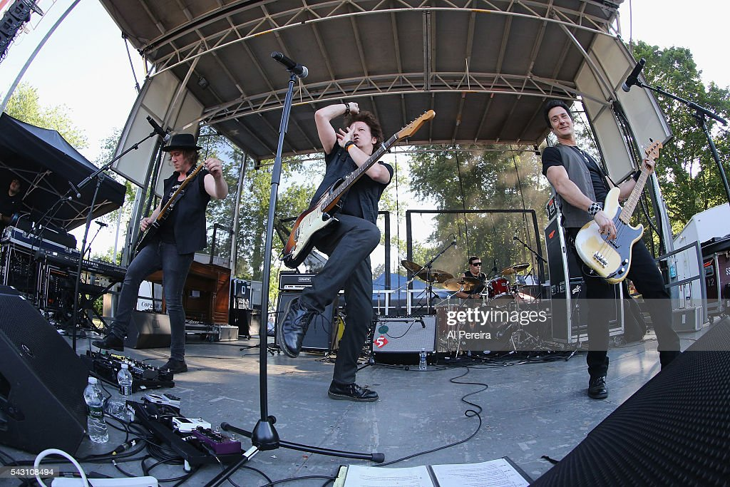 Willie Nile peforms at Day One of the Rockland-Bergen Music Festival at German Masonic Park on June 25, 2016 in Tappan, New York.