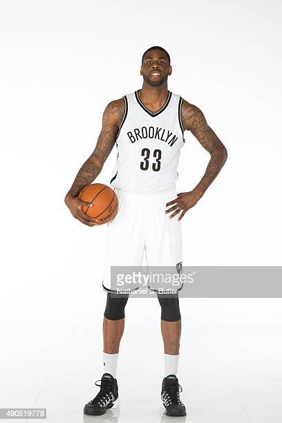 Willie Reed of the Brooklyn Nets poses for a photo during Media Day at the Brooklyn Nets Practice Facility NOTE TO USER User expressly acknowledges...