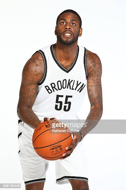 Willie Reed of the Brooklyn Nets poses for a portrait during Media Day at the Nets practice facility on September 26 2014 in East Rutherford New...