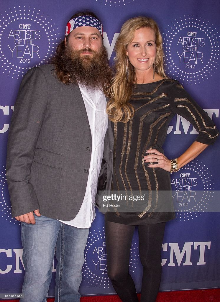 Willie Robertson and Korie Robertson attend the CMT Artist of the Year Awards at The Factory At Franklin on December 3, 2012 in Franklin, Tennessee.