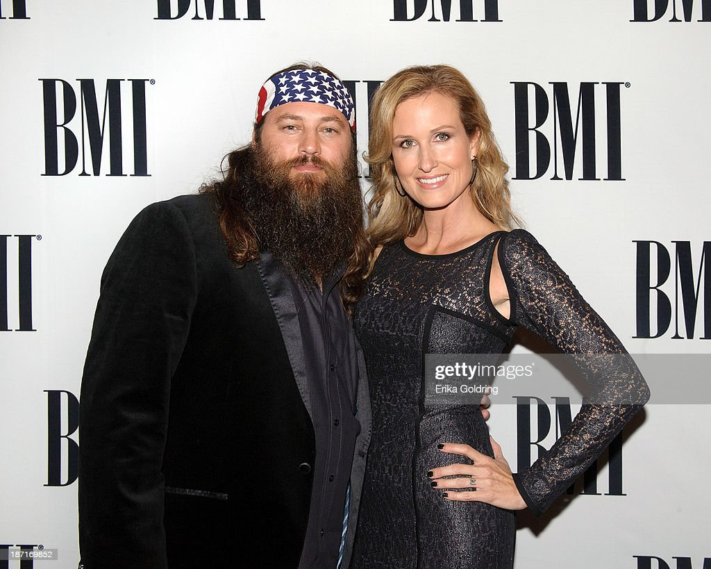 Willie Robertson and Korie Robertson of Duck Dynasty attend the 61st annual BMI Country awards on November 5, 2013 in Nashville, Tennessee.