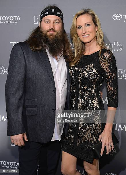 Willie Robertson and Korie Robertson of Duck Dynasty attend the PEOPLE/TIME Party On The Eve Of The White House Correspondents' Dinner on April 26...