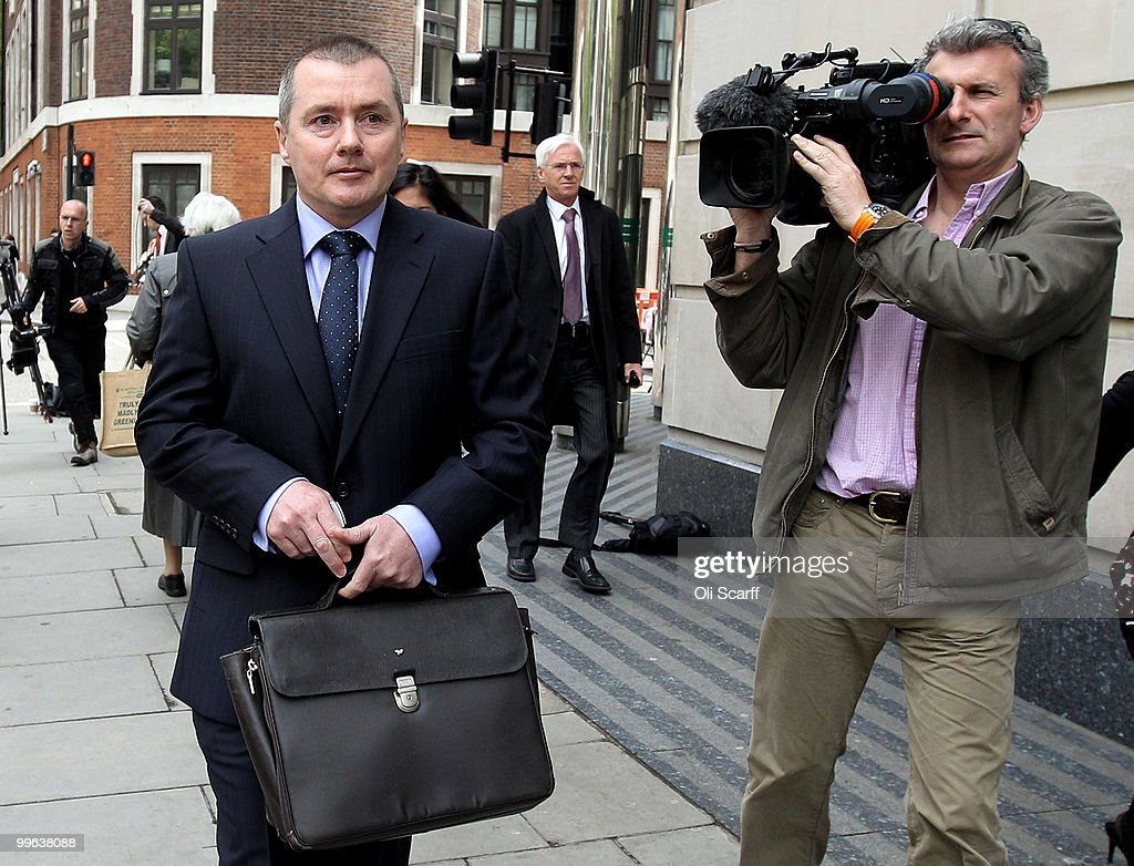 Willie Walsh (L), the Chief Executive of British Airways, leaves the Department of Transport after holding talks with the Transport Secretary Philip Hammond in a bid to avert a proposed strike by BA cabin crew on May 17, 2010 in London, England. BA cabin crew are planning four five-day strikes, the first of which is due to begin tomorrow, in a protest over changes to working conditions. British Airways are also questioning the legality of the BA cabin crew members by their union Unite and are seeking a High Court injunction to prevent the industrial action.