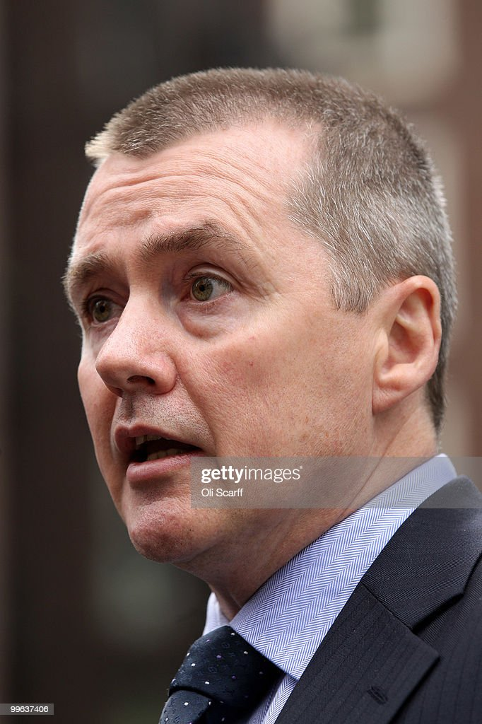 Willie Walsh, the Chief Executive of British Airways, speaks to journalists as he leaves the Department of Transport after holding talks with the Transport Secretary Philip Hammond in a bid to avert a proposed strike by BA cabin crew on May 17, 2010 in London, England. BA cabin crew are planning four five-day strikes, the first of which is due to begin tomorrow, in a protest over changes to working conditions. British Airways are also questioning the legality of the BA cabin crew members by their union Unite and are seeking a High Court injunction to prevent the industrial action.