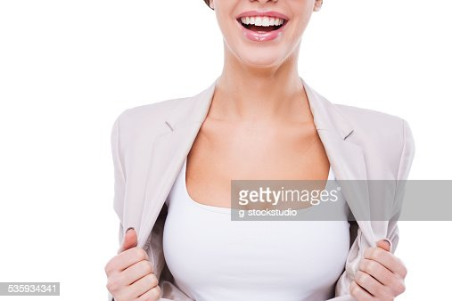 Willing to be the first in business. : Stock Photo