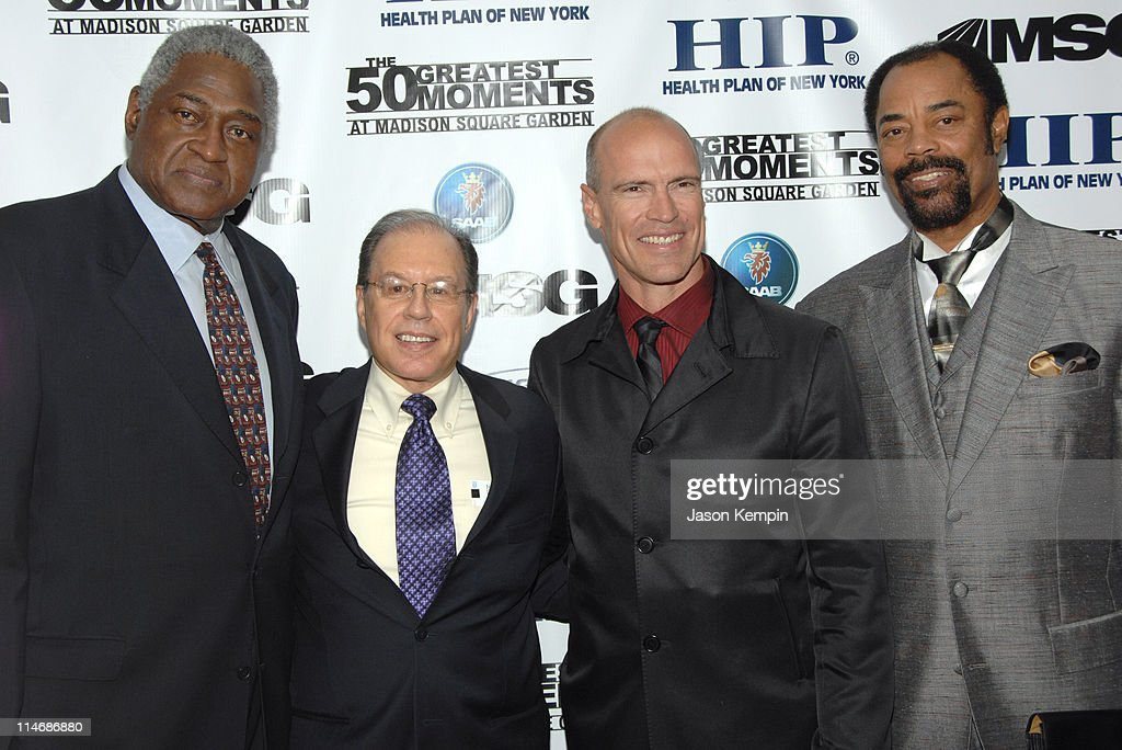 Willis Reed George Kalinsky Mark Messier and Walt Frazier