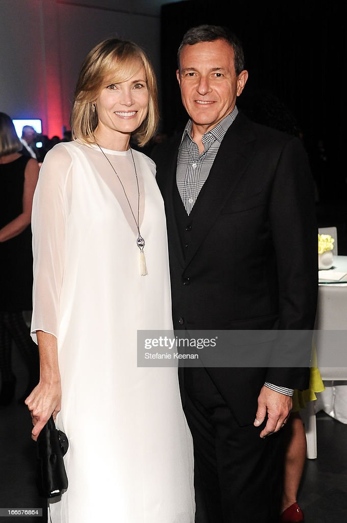 Willow Bay and Robert Iger attend LACMA's 2013 Collectors Committee - Gala Dinner at LACMA on April 13, 2013 in Los Angeles, California.