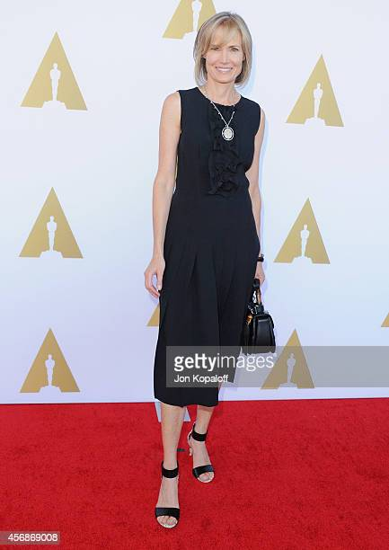 Willow Bay arrives at The Academy Hosts Hollywood Costume Private Luncheon at Wilshire May Company Building on October 8 2014 in Los Angeles...