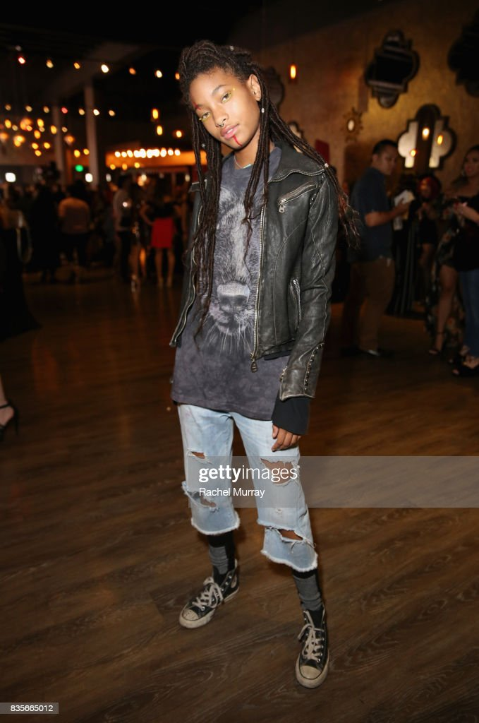 Willow Smith at the 2017 NYX Professional Makeup FACE Awards at The Shrine Auditorium on August 19, 2017 in Los Angeles, California.