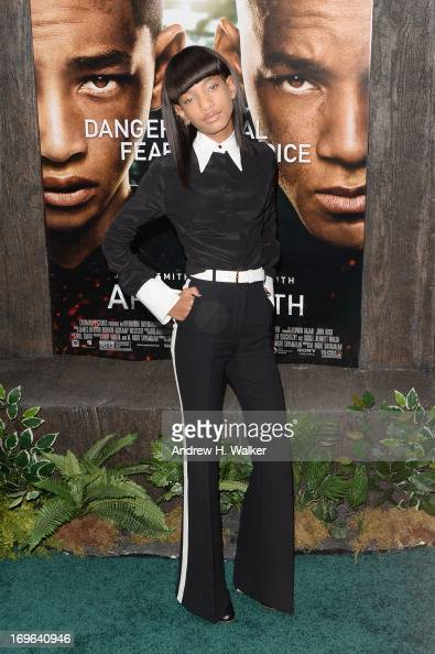 Willow Smith attends the 'After Earth' premiere at Ziegfeld Theater on May 29 2013 in New York City