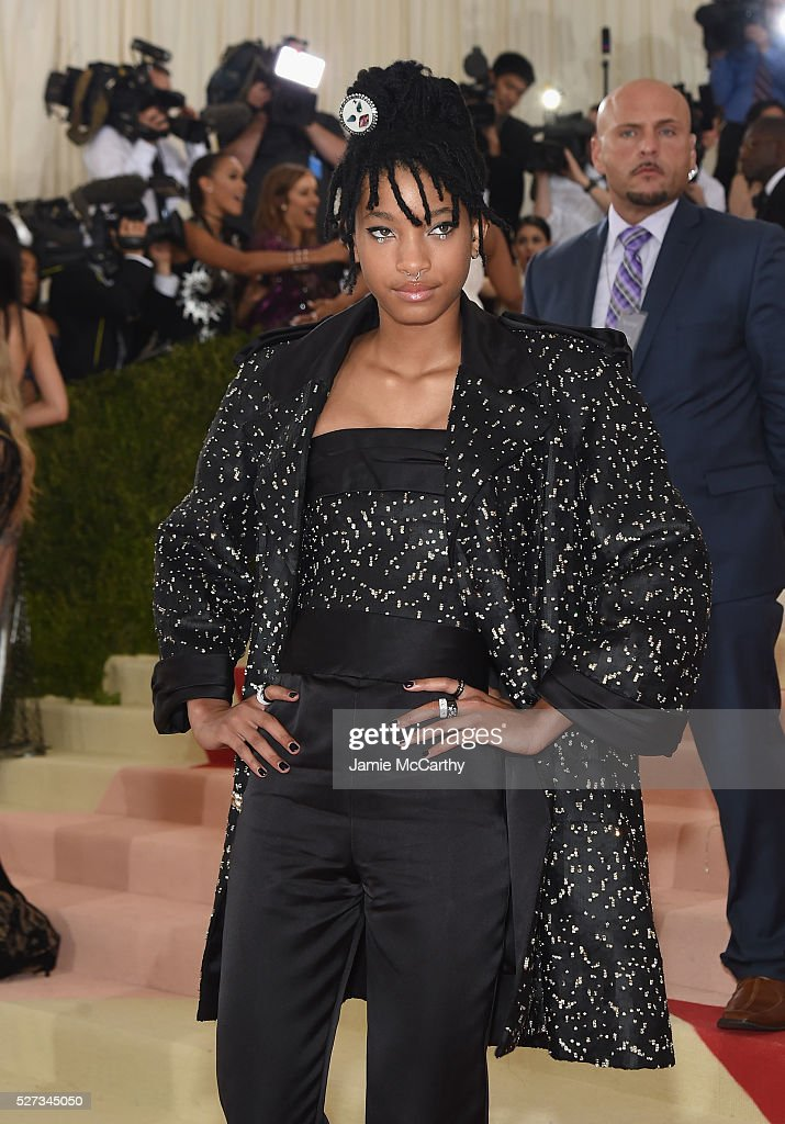 Willow Smith attends the 'Manus x Machina: Fashion In An Age Of Technology' Costume Institute Gala at Metropolitan Museum of Art on May 2, 2016 in New York City.