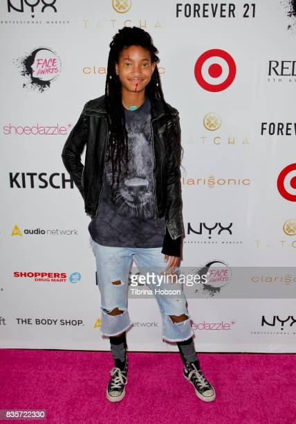 Willow Smith attends the NYX Professional Makeup's 6th annual FACE Awards at The Shrine Auditorium on August 19 2017 in Los Angeles California
