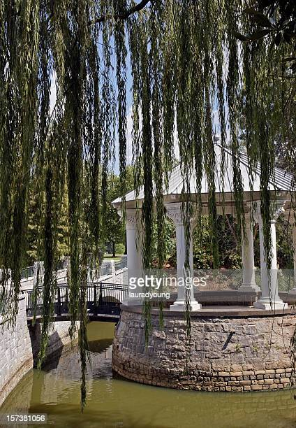 Willow Tree and Gazebo Piedmont Park Atlanta