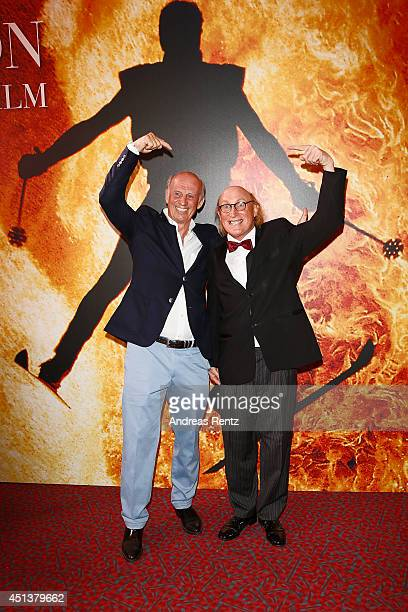 Willy Bogner and Otto Waalkes attend the Willy Bogner Gala as part of Filmfest Muenchen 2014 at Gasteig on June 28 2014 in Munich Germany