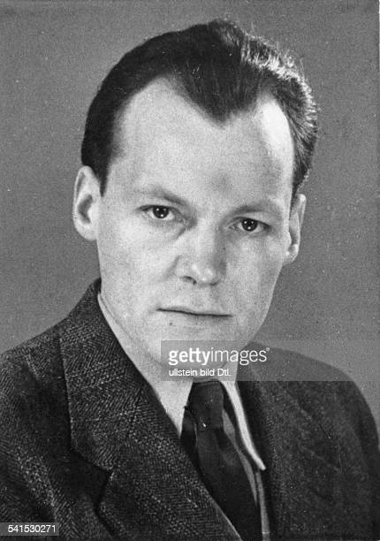 Willy Brandt * Politician Social Democrat Germany Portrait 1950ies