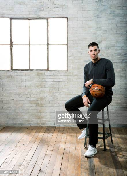 Willy Hernangomez of the New York Knicks poses for a photo during the 2017 AllStar Media Circuit at the Ritz Carlton in New Orleans LA NOTE TO USER...