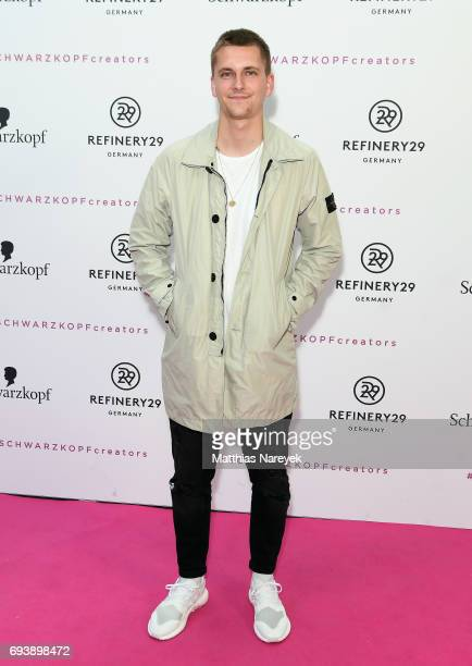Willy Iffland attends the Schwarzkopf x Refinery29 event at Bar Babette on June 8 2017 in Berlin Germany
