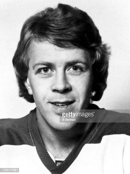 Willy Lindstrom of the Winnipeg Jets poses for a portrait in September 1976 in Winnipeg Manitoba Canada