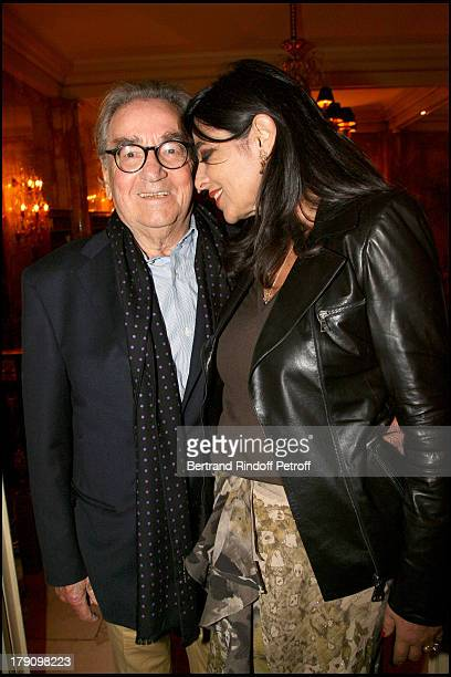 Willy Rizzo and wife Dominique at Opening Exhibition Of 'Vogue Covers 19202009' At Champs Elysees In Paris