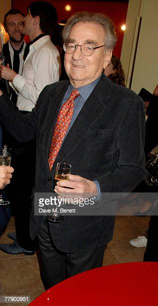 Willy Rizzo attends the private view of his latest exhibition of photographs and furniture at Paul Smith on Albemarle Street on November 13 2007 in...