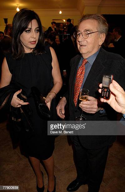 Willy Rizzo with wife Dominique attend the private view of Willy Rizzo's latest exhibition of photographs and furniture at Paul Smith on Albemarle...