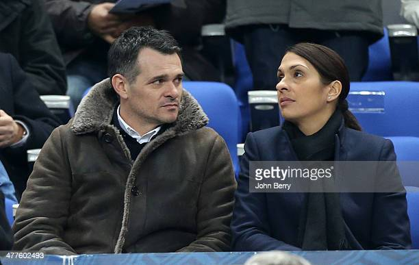 Willy Sagnol attends the international friendly match between France and the Netherlands at Stade de France on March 5 2014 in SaintDenis near Paris...
