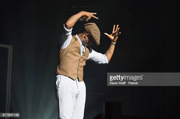 Willy William opens for Keen' V at Le Zenith on October 23 2016 in Paris France