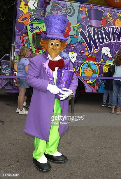 Willy Wonka at the Target A Time for Heroes Celebrity Carnival Benefitting the Elizabeth Glaser Pediatric AIDS Foundation