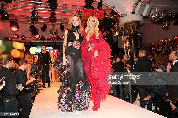 Wilma Elles and Rosanna Davison daughter of Chris de Burg during the Lambertz Monday Night 2017 at Alter Wartesaal on January 30 2017 in Cologne...