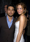 Wilmer Valderrama and Mandy Moore during 'Saved' Los Angeles Premiere After Party at Beverly Hills High School in Beverly Hills California United...