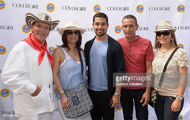 Wilmer Valderrama at the CoverGirl Tide Style Center at Calle Ocho Miami's largest most vibrant community festival Valderrama handpicked the...