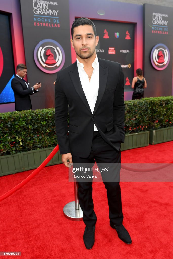 Wilmer Valderrama attends The 18th Annual Latin Grammy Awards at MGM Grand Garden Arena on November 16, 2017 in Las Vegas, Nevada.