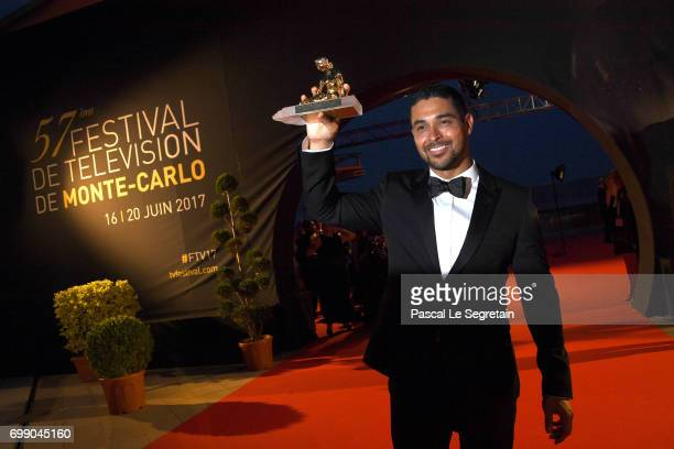 Wilmer Valderrama attends the closing ceremony of the 57th Monte Carlo TV Festival on June 20 2017 in MonteCarlo Monaco