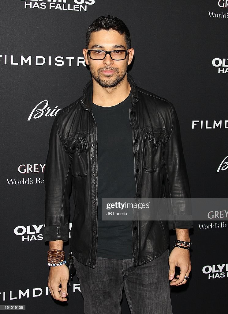 Wilmer Valderrama attends the 'Olympus Has Fallen' Los Angeles Premiere held at ArcLight Cinemas Cinerama Dome on March 18, 2013 in Hollywood, California.