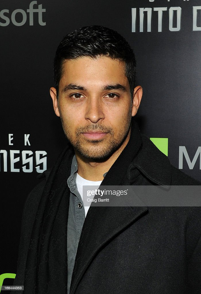 <a gi-track='captionPersonalityLinkClicked' href=/galleries/search?phrase=Wilmer+Valderrama&family=editorial&specificpeople=202028 ng-click='$event.stopPropagation()'>Wilmer Valderrama</a> attends the 'Star Trek Into Darkness' New York Special Screening at AMC Loews Lincoln Square on May 9, 2013 in New York City.