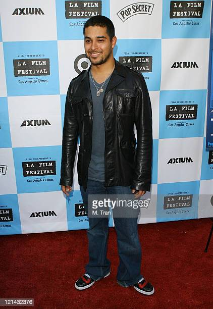 Wilmer Valderrama during 2007 Los Angeles Film Festival 'The Beautiful Ordinary' Arrivals at Landmark's Regent Theater in Westwood Calfornia United...