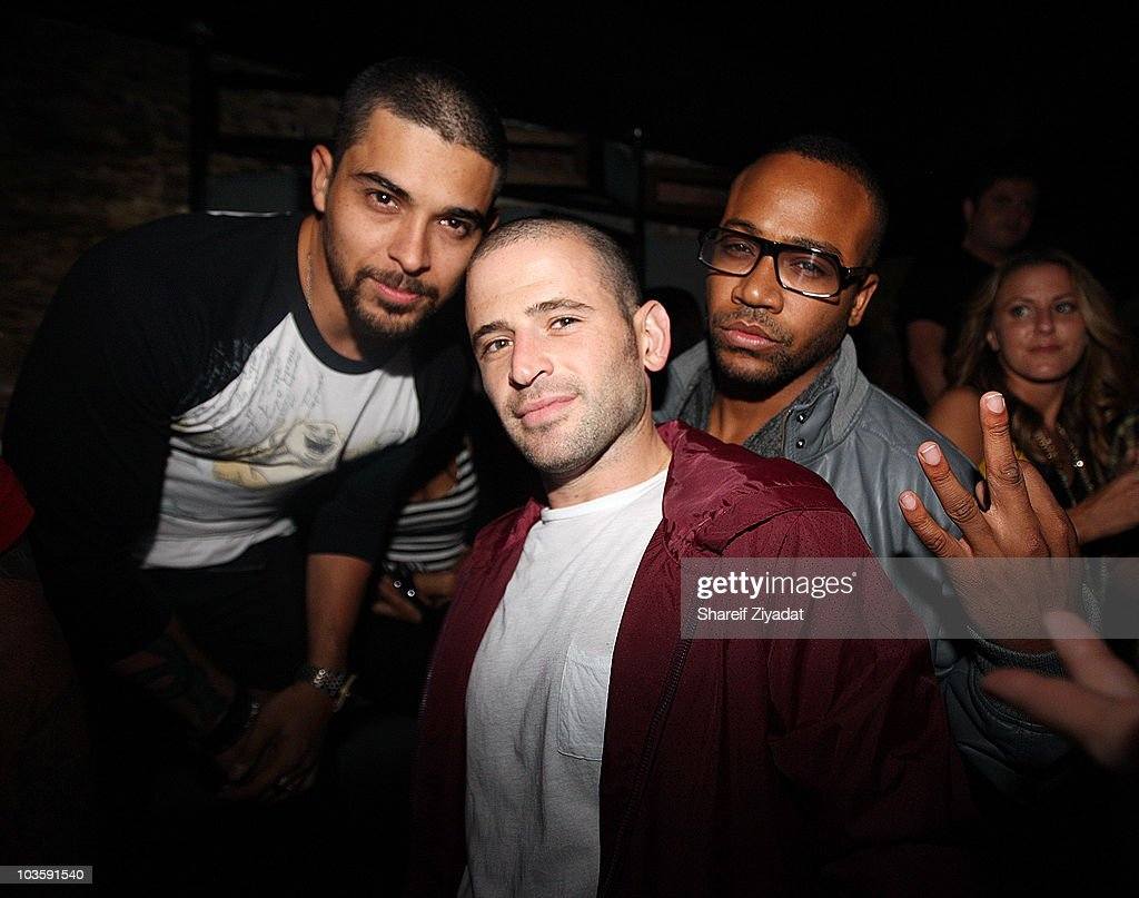 Wilmer Valderrama Eugene Remm and Columbus Short attend Sujit Kundu's 15th annual 21st birthday party at SL on August 23 2010 in New York City