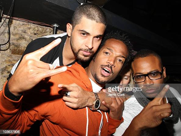 Wilmer Valderrama Marlon Wayans and Columbus Short attend Sujit Kundu's 15th annual 21st birthday party at SL on August 23 2010 in New York City