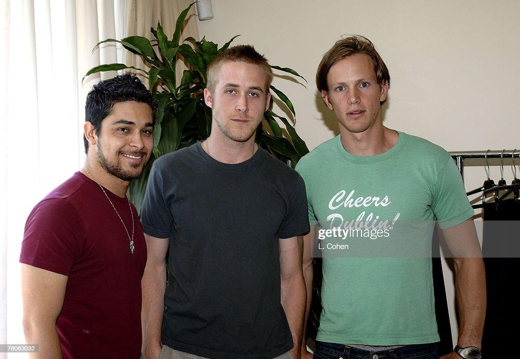 Wilmer Valderrama, Ryan Gosling and Kip Pardue