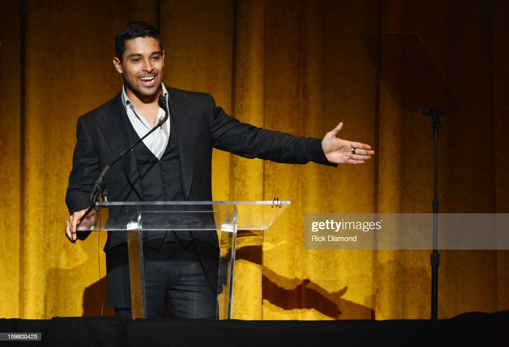 Wilmer Valderrama speaks onstage at Latino Inaugural 2013: In Performance at Kennedy Center at The Kennedy Center on January 20, 2013 in Washington, DC.