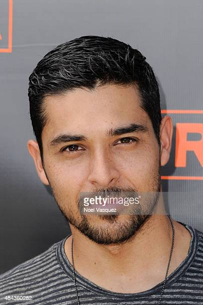 Wilmer Valderrama visits 'Extra' at Universal Studios Hollywood on August 17 2015 in Universal City California