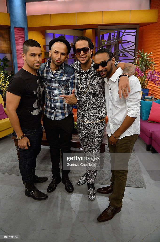 On The Set Of Univisions Despierta America