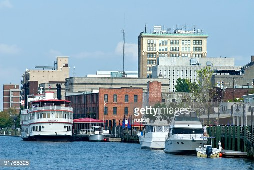 Wilmington, NC from Cape Fear River