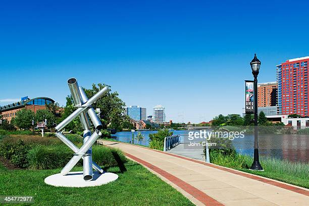 Wilmington River Walk and river