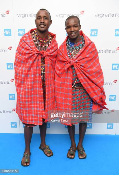 Wilson and Jackson attend WE Day UK at The SSE Arena on March 22 2017 in London United Kingdom