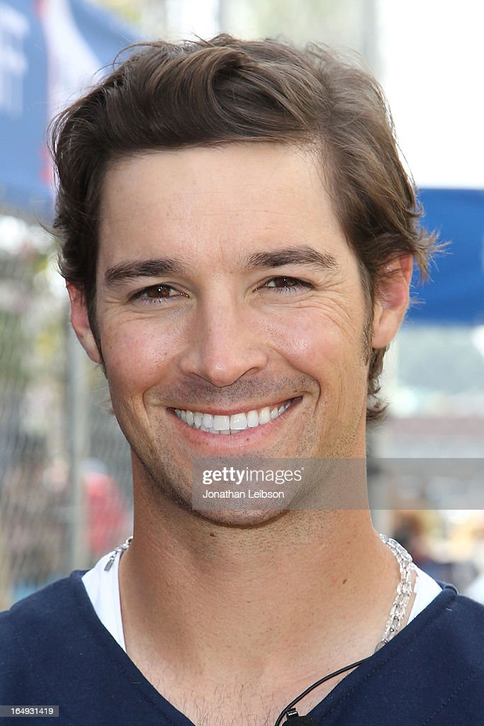 C.J. Wilson attends the Head & Shoulders 'Whiff-A-Thon' at The Grove on March 29, 2013 in Los Angeles, California.