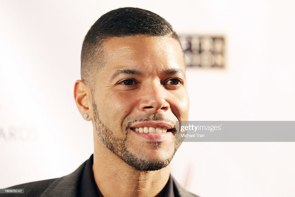 <a gi-track='captionPersonalityLinkClicked' href=/galleries/search?phrase=Wilson+Cruz&family=editorial&specificpeople=660625 ng-click='$event.stopPropagation()'>Wilson Cruz</a> arrives at The Academy of Television Arts & Sciences and SAG-AFTRA celebrate The 65th Primetime Emmy Award Nominees held at Academy of Television Arts & Sciences on September 17, 2013 in North Hollywood, California.