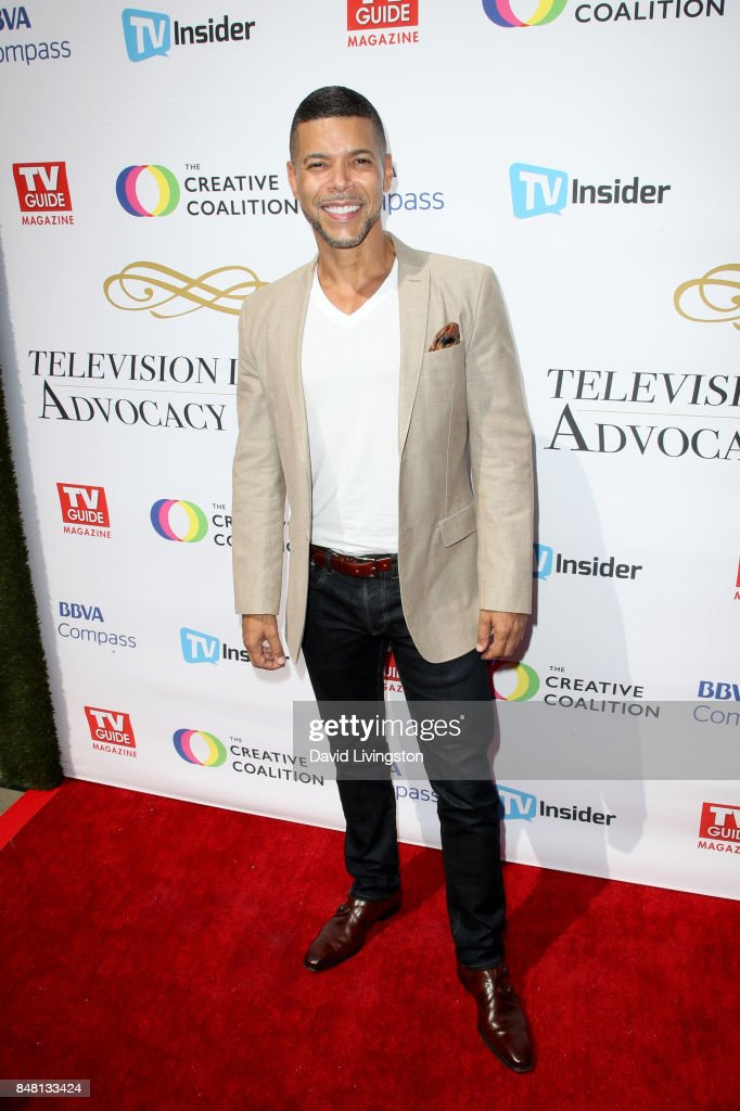Wilson Cruz at the Television Industry Advocacy Awards at TAO Hollywood on September 16, 2017 in Los Angeles, California.