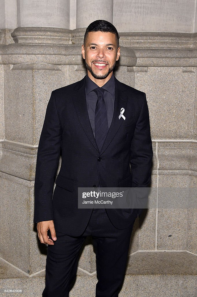 Wilson Cruz attends 2016 Logo's Trailblazer Honors at Cathedral of St. John the Divine on June 23, 2016 in New York City.