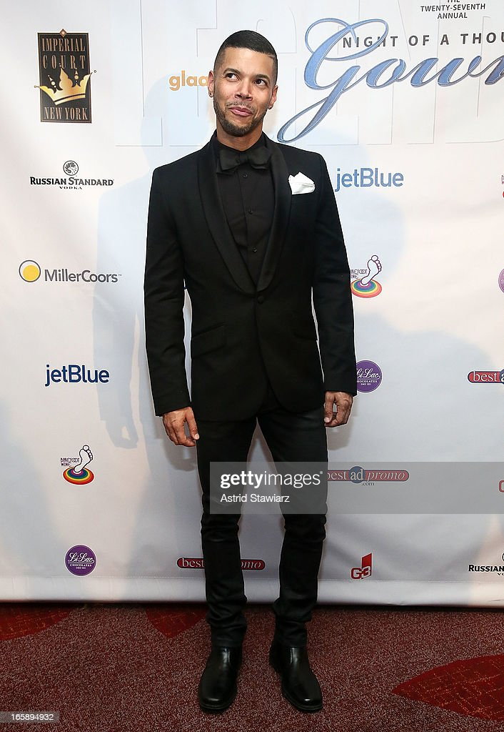 Wilson Cruz attends the 27th Annual Night Of A Thousand Gowns at the Hilton New York on April 6, 2013 in New York City.